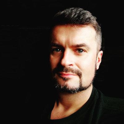 Fotografia Michała Gołkowskiego — gościa specjalnego Pilkonu 2021.