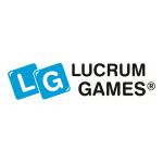 Logo Lucrum Games - partnera Pilkonowego Games Roomu 2021.